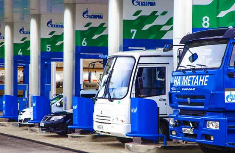 «Газпром» повысил цены нагазовых заправках